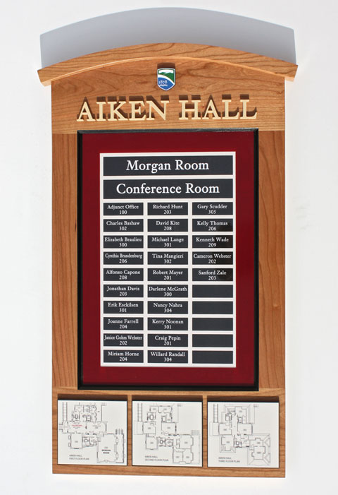 Wall Mounted Sign